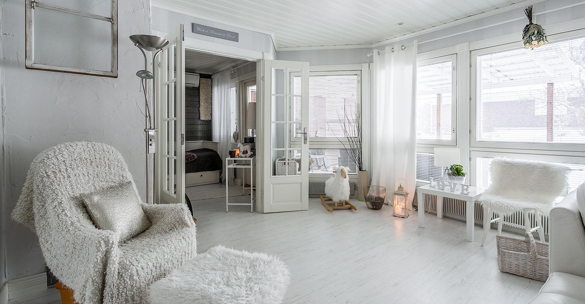 Laadukkaat kuvat myyvät asunnon